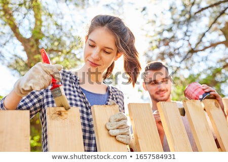 I can help painting stock photo © Quasarphoto
