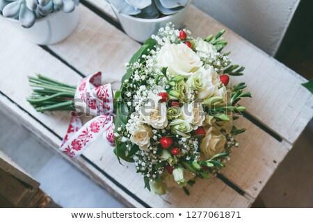 wedding corsage Stock photo © Sarkao