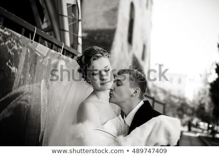 заманчивый женщину элегантный муж дружок Сток-фото © majdansky
