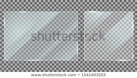 Noir acrylique bannière mode peinture Shopping Photo stock © gladiolus
