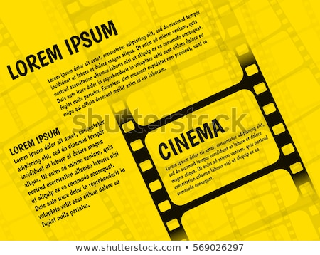 Retro cinema banners posters flyers templates flat design Stock photo © LoopAll