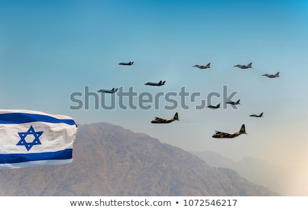 israeli military aircraft stock photo © oleksandro