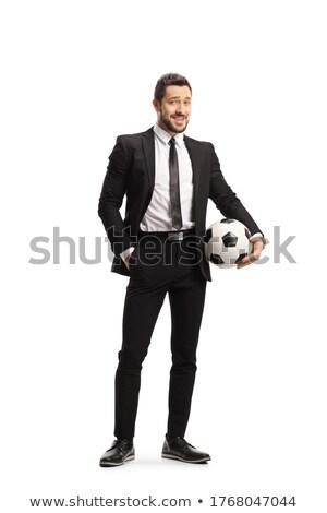 Homem bola foto sem camisa jeans Foto stock © pressmaster