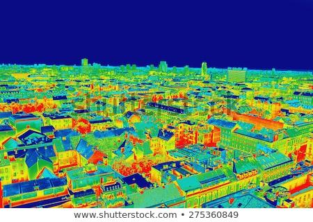 recording panorama of zagreb stock photo © smuki