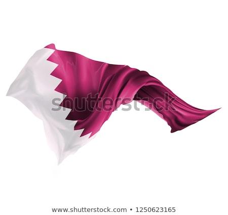Européenne Union Qatar drapeaux puzzle isolé Photo stock © Istanbul2009