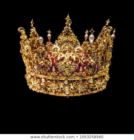 королева · корона · королевский · вектора · изображение · царя - Сток-фото © yurkina