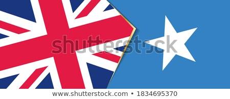 イギリス ソマリア フラグ パズル 孤立した 白 ストックフォト © Istanbul2009