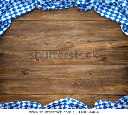 木製 テーブルクロス 食品 デザイン 表 レトロな ストックフォト © Zerbor