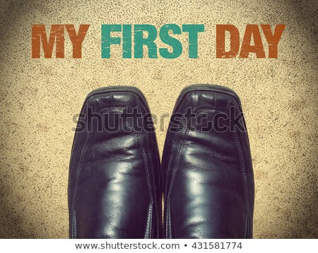 my first shoes stock photo © stocksnapper