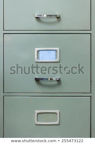 titkolózás · üzlet · mappa · katalógus · kártya · közelkép - stock fotó © zerbor