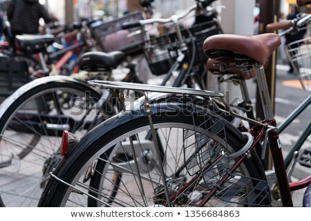 fiets · parkeren · buiten · openbare · treinstation · Duitsland - stockfoto © amok