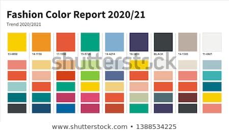 A set of colorful textile palette Stock photo © jordanrusev