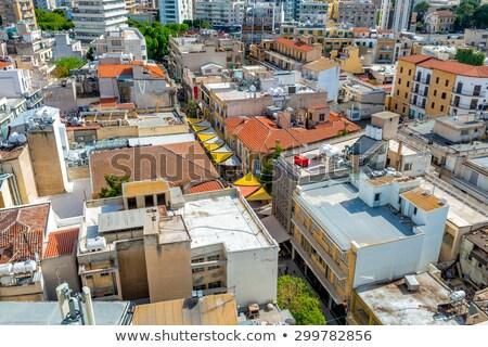 Luchtfoto straat Cyprus huis stad Stockfoto © Kirill_M
