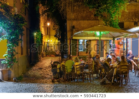 cafe evening lamp Stock photo © Paha_L
