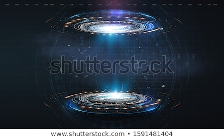 Scifi résumé futuriste 3d illustration design art Photo stock © drizzd