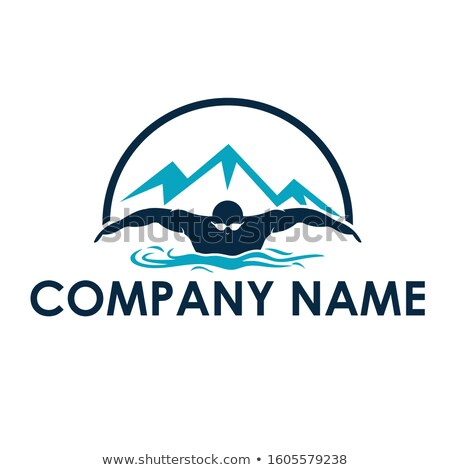 Swimmer sketch icon. Stock photo © RAStudio