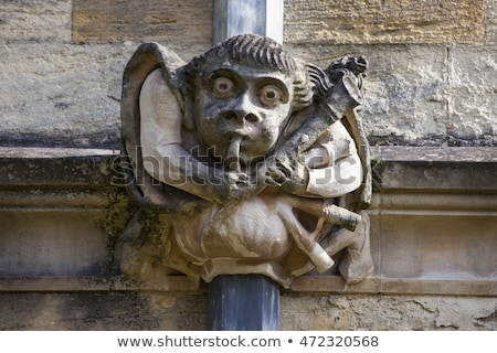 Brasenose College Gargoyle in Oxford Stock photo © chrisdorney