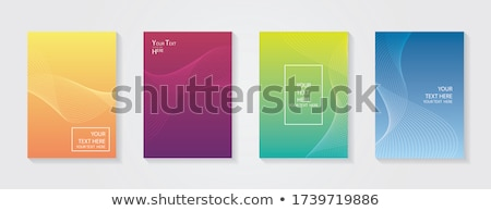 modern halftone background with trendy colors Stock photo © SArts