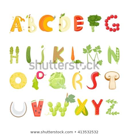 illusztráció · d · betű · vitamin · izolált · fehér · 3d · illusztráció - stock fotó © tussik