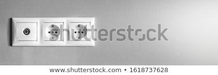 минимальный проволоки Баннеры набор три Сток-фото © SArts