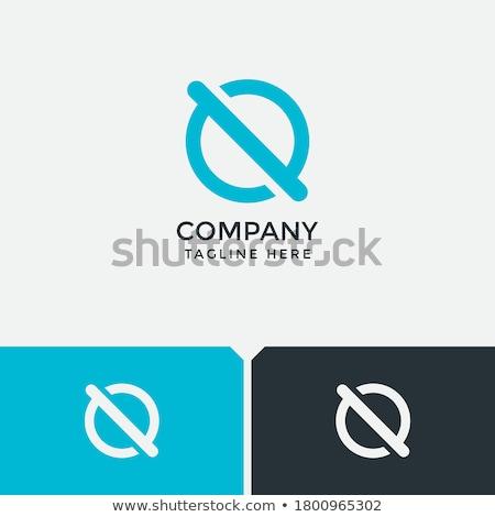 abstract letter o or circle logo design Stock photo © SArts