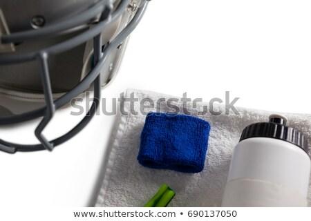 Fles servet sport helm Stockfoto © wavebreak_media