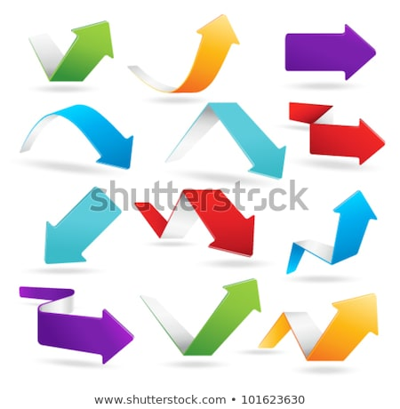 arrows moving downward business concept design Stock photo © SArts