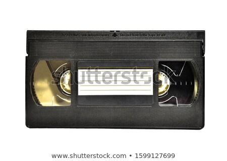 Vintage аналоговый телевидение контроля экране связи Сток-фото © boggy