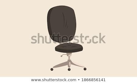 Bürostuhl Direktor Chef Sessel Manager Sitz Stock foto © Andrei_