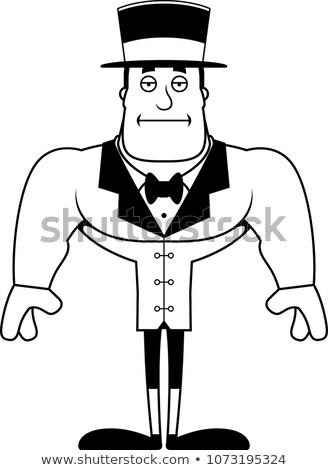 Cartoon Bored Ringmaster  Stock photo © cthoman