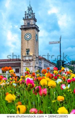 Torre dei Caduti in Bergamo Stock photo © boggy