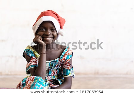 Children happily greet Christmas                                Stock photo © liolle