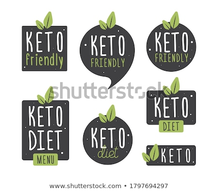 Keto Nutrition Lifestyle Stock photo © Lightsource