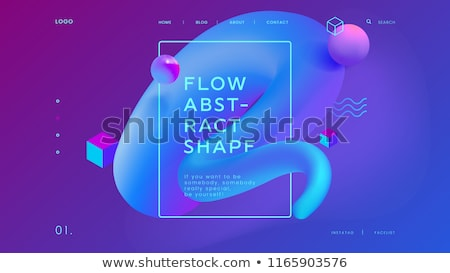 Industrial design concept landing page. Stock photo © RAStudio