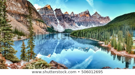 морена · озеро · Канада · парка · воды · пейзаж - Сток-фото © benkrut