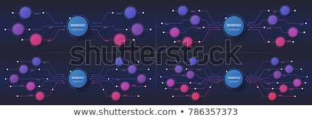 digital global technology banner with circuit diagram Stock photo © SArts