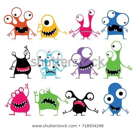 Cartoon Fantasy Robot Characters Set Stock photo © izakowski