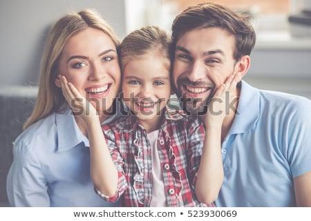 отец · дочь · лес · луговой · семьи · дерево - Сток-фото © lopolo