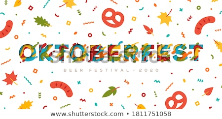 Beer fest concept banner header. Stock photo © RAStudio