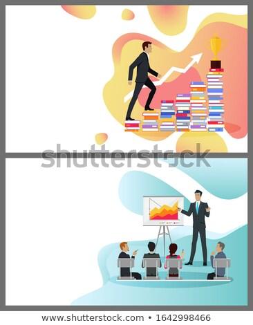 Zawodowych wzrostu mistrz klasy online Zdjęcia stock © robuart