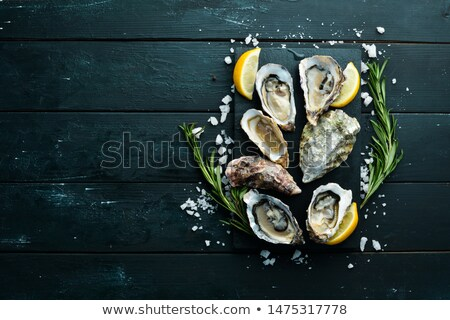 Oysters Background Stock photo © Lightsource