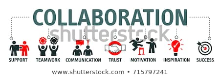 Inspire and Collaborate Concept Stock photo © Lightsource