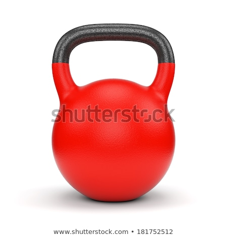 Kettle bell weight 3D Stock photo © djmilic