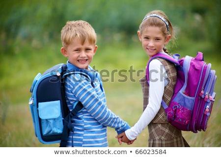 2 子供 少年 少女 幼稚園 年齢 ストックフォト © ElenaBatkova