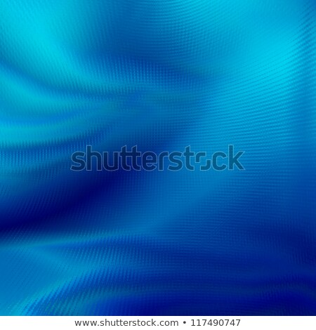 Folds of blue paper or cloth. stock photo © christina_yakovl