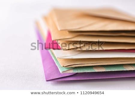 stack of envelopes stock photo © marekusz