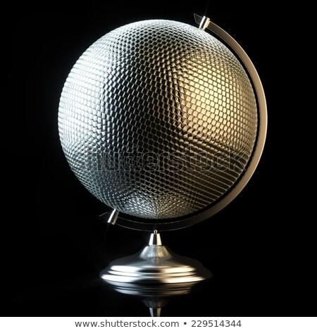 resumen · orador · silueta · cartas · cabeza · boca - foto stock © davidarts