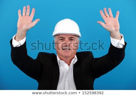 Arquiteto último dia negócio feliz Foto stock © photography33