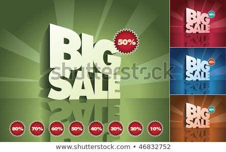 big sale with reflection stock photo © marinini