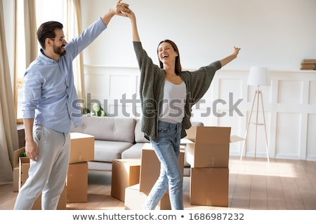 Young women on moving day Stock photo © photography33